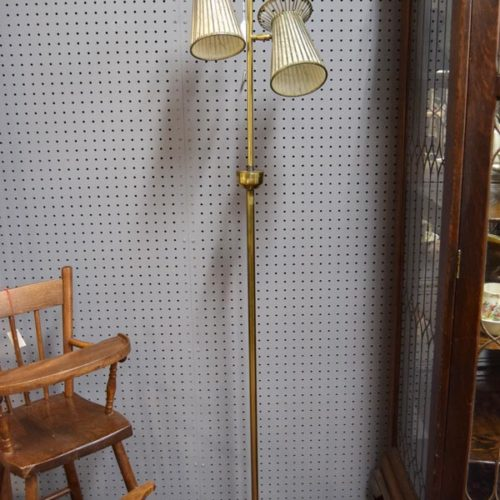 Vintage 50s Floor Lamp - Booth #005 - $145