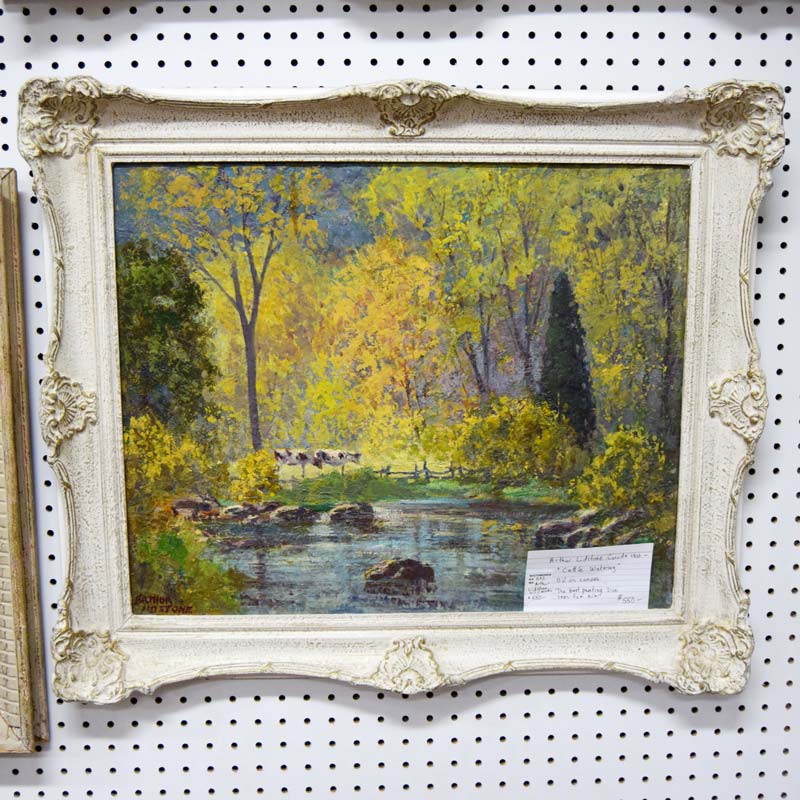 Arthur Lidstone Oil Painting - Booth #032 - $550