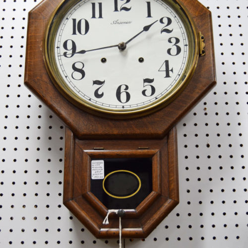 Ansonia Drop Octagon Clock - Booth #035 - $150