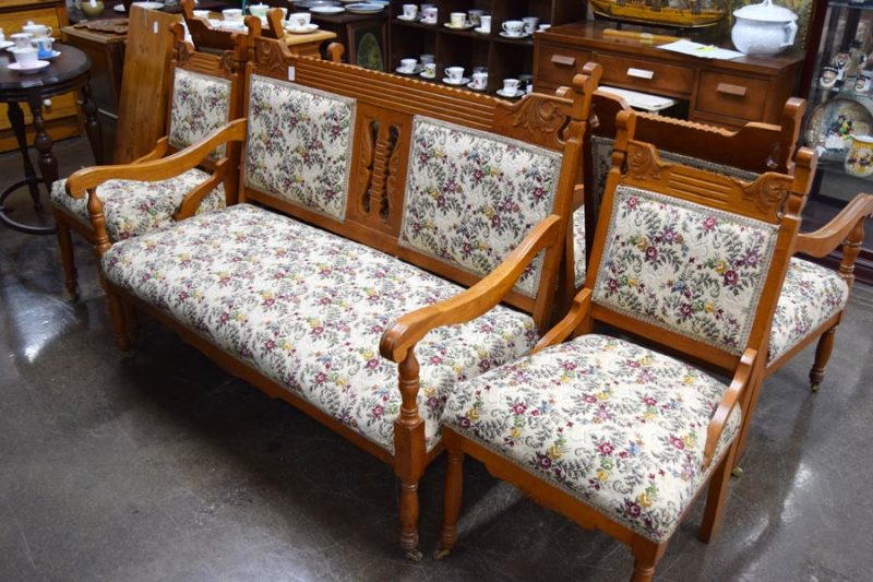 Couch & 2 side chairs - Booth #046 - $395