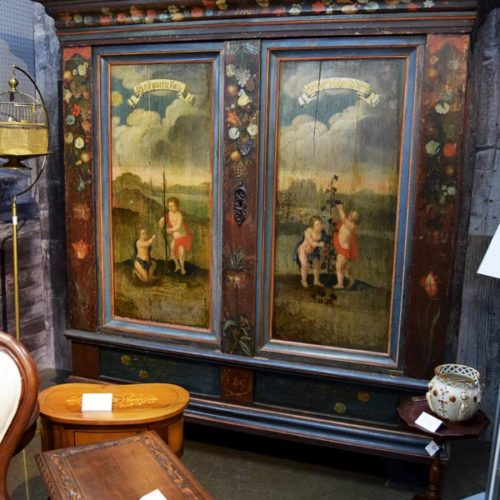 Large German Cabinet - Booth #055 - $6800