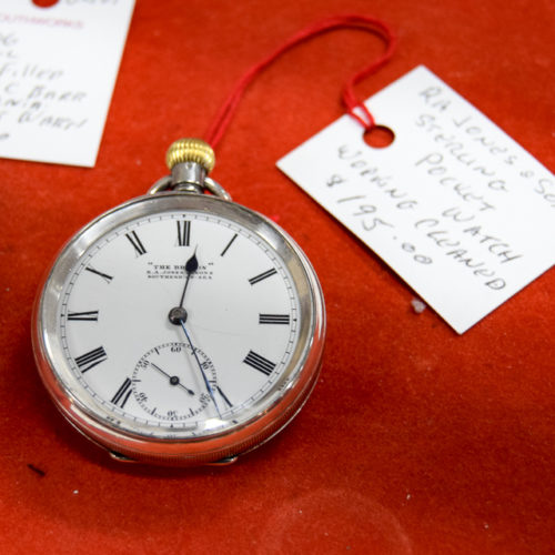 Sterling Pocket Watch