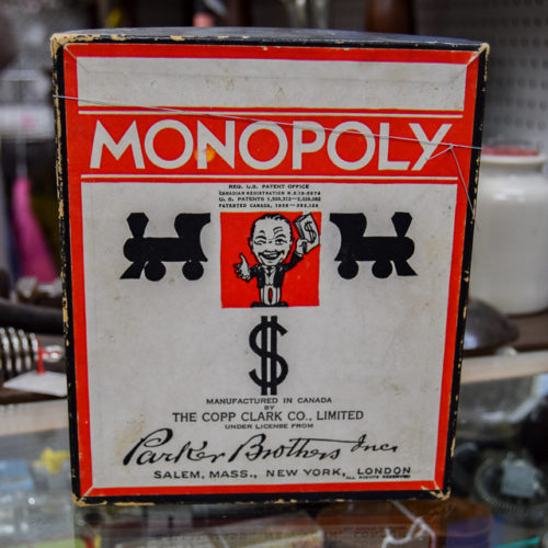 1936 Edition Monopoly Game