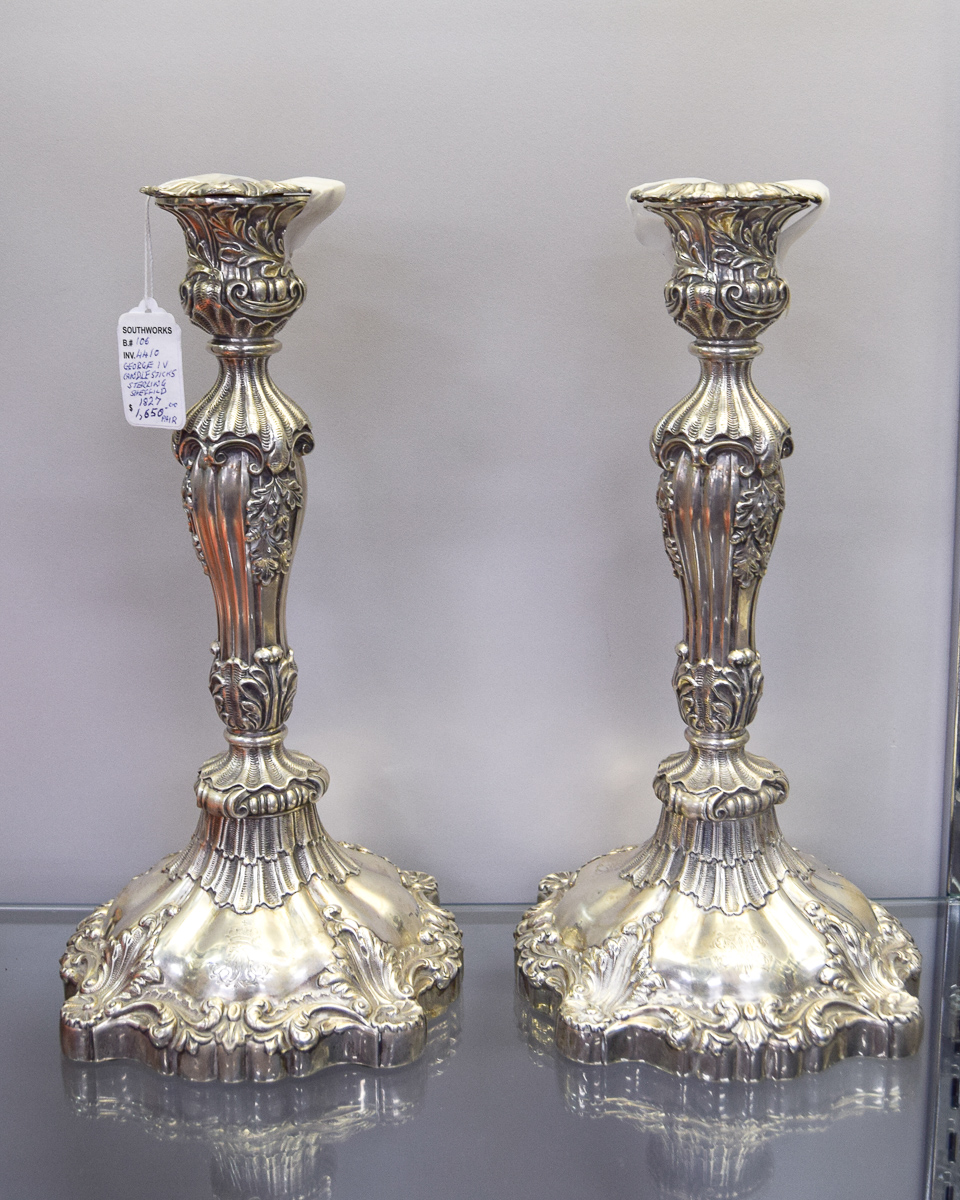 George IV Candle Sticks