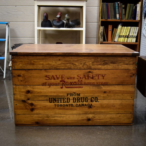 Rexall Crate With Lid