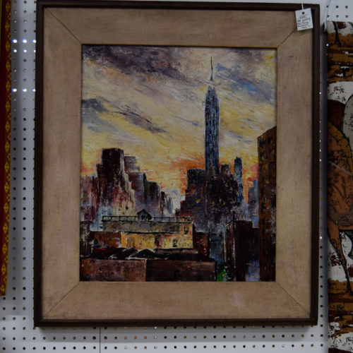 Olivia McConnel 1963 NYC Painting