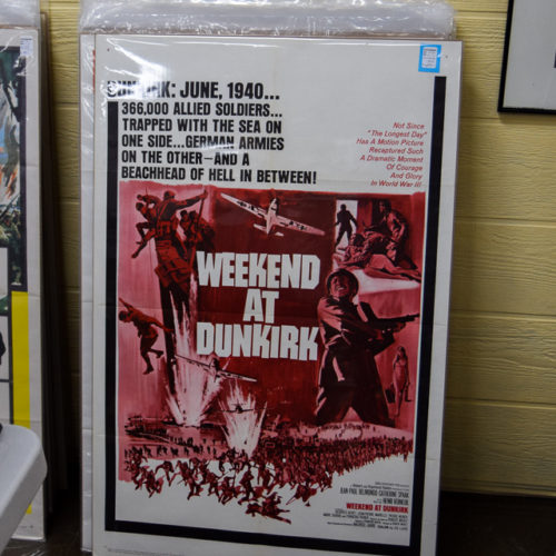 Wartime Poster 'Weekend at Duinkirk'
