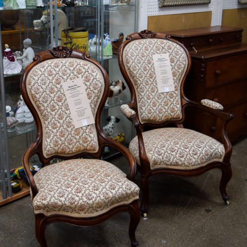 Lady & Gentleman Chairs