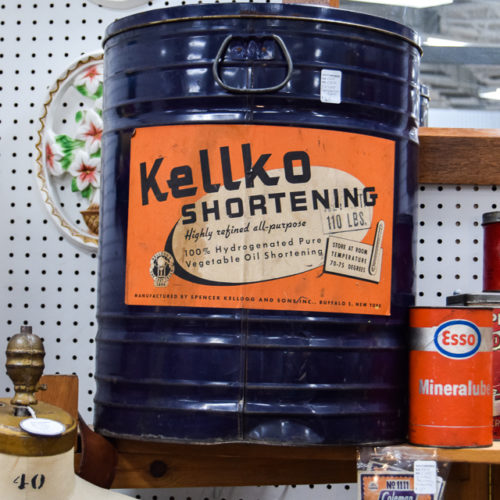 Kellko Shortening Tin
