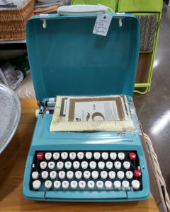 Smith Corona 3cm Typewriter