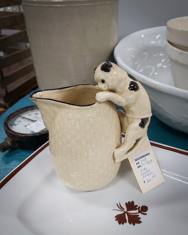 Kitty Handle Pitcher