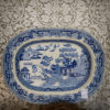 Blue Willow Staffordshire Platter