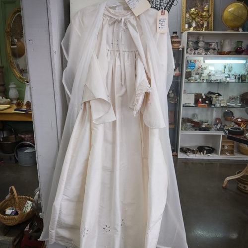 Vintage Silk 3 Piece Child's Gown