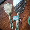1950s Gold Tone 3 Piece Vanity Set