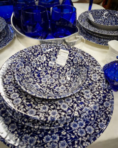 Queen's Blue Tableware
