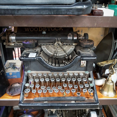 Rare Woodstock No 5 Typewriter