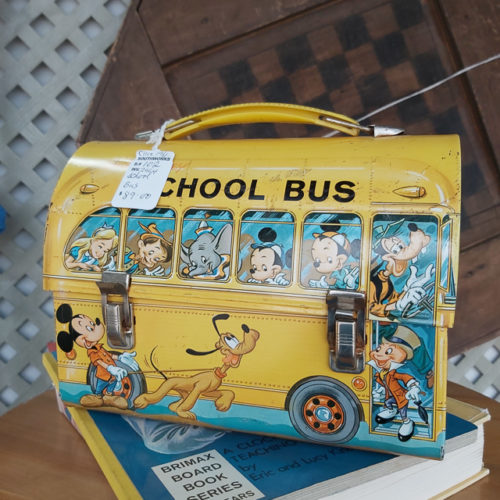 1961 Disney School Bus Lunch Bag