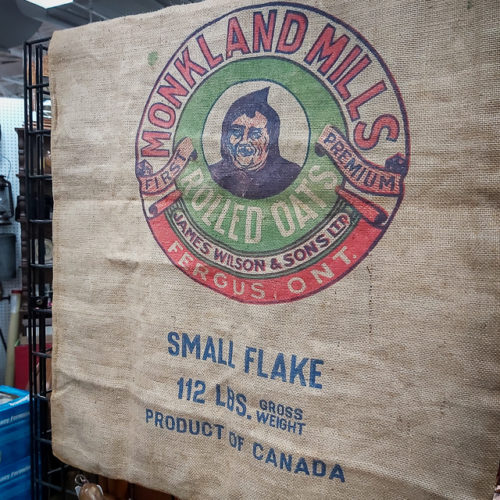 Monkland Mills Rolled Oats Bag